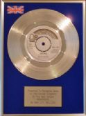 "BAY CITY ROLLERS - 7"" Silver  Disc - REMEMBER"